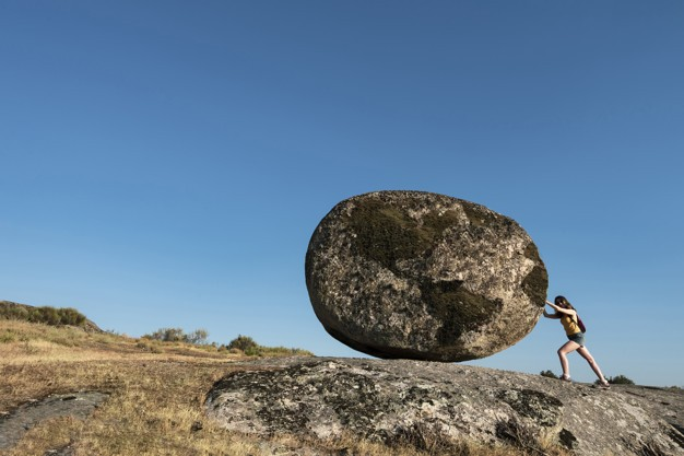 Living a Life on Your Terms: Sisyphus had to push the boulder up this mountain every day for all eternity—trying to complete an inane task that would never be completed.